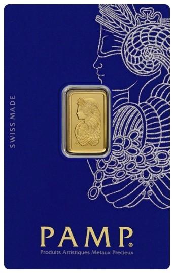 2.5 GRAMS GOLD BAR