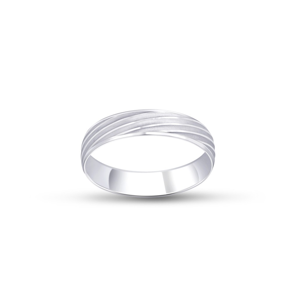 FOREVER WEDDING BAND  GENTS PLATINUM RING FBPL1023