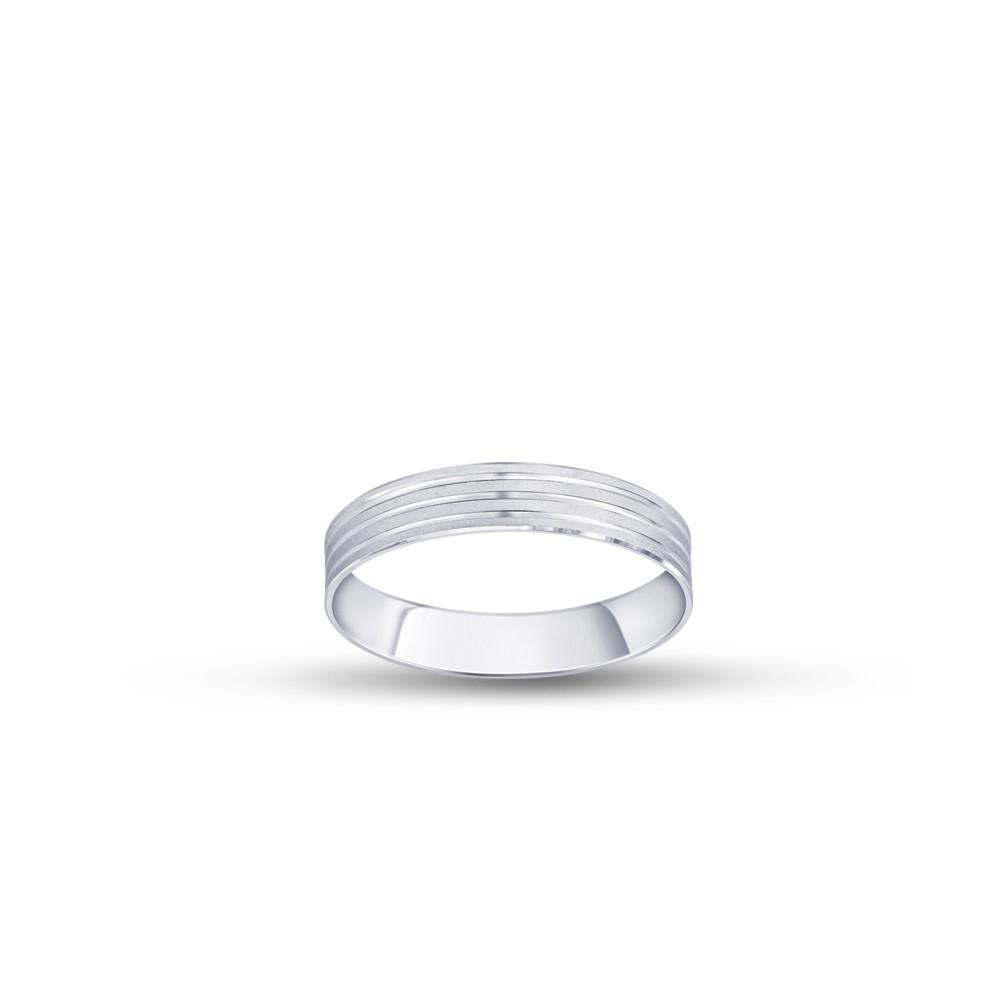 Forever Wedding Band Ladys Platinum Ring Fbpl1025