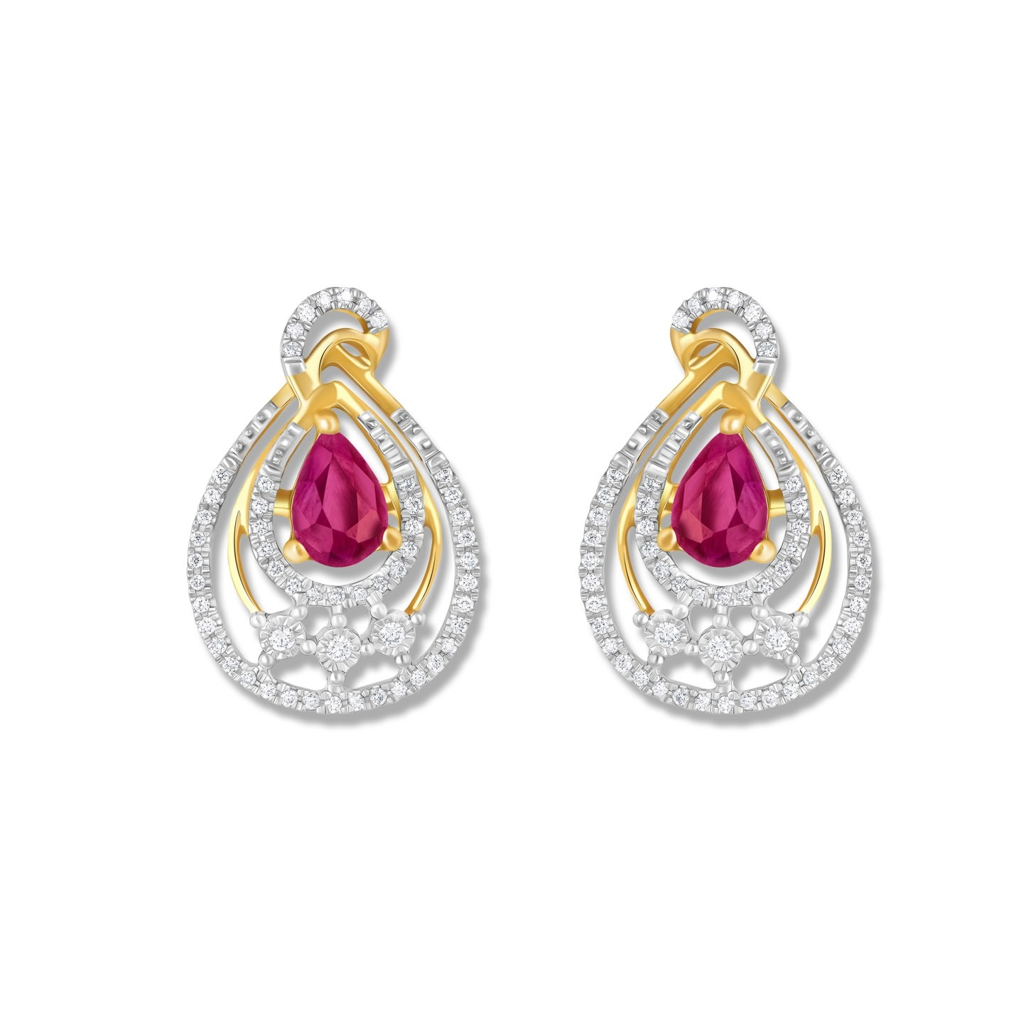 DIAMOND EARRING KK-25RE