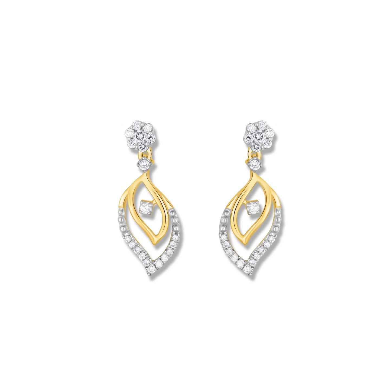 DIAMOND EARRING KK-366E