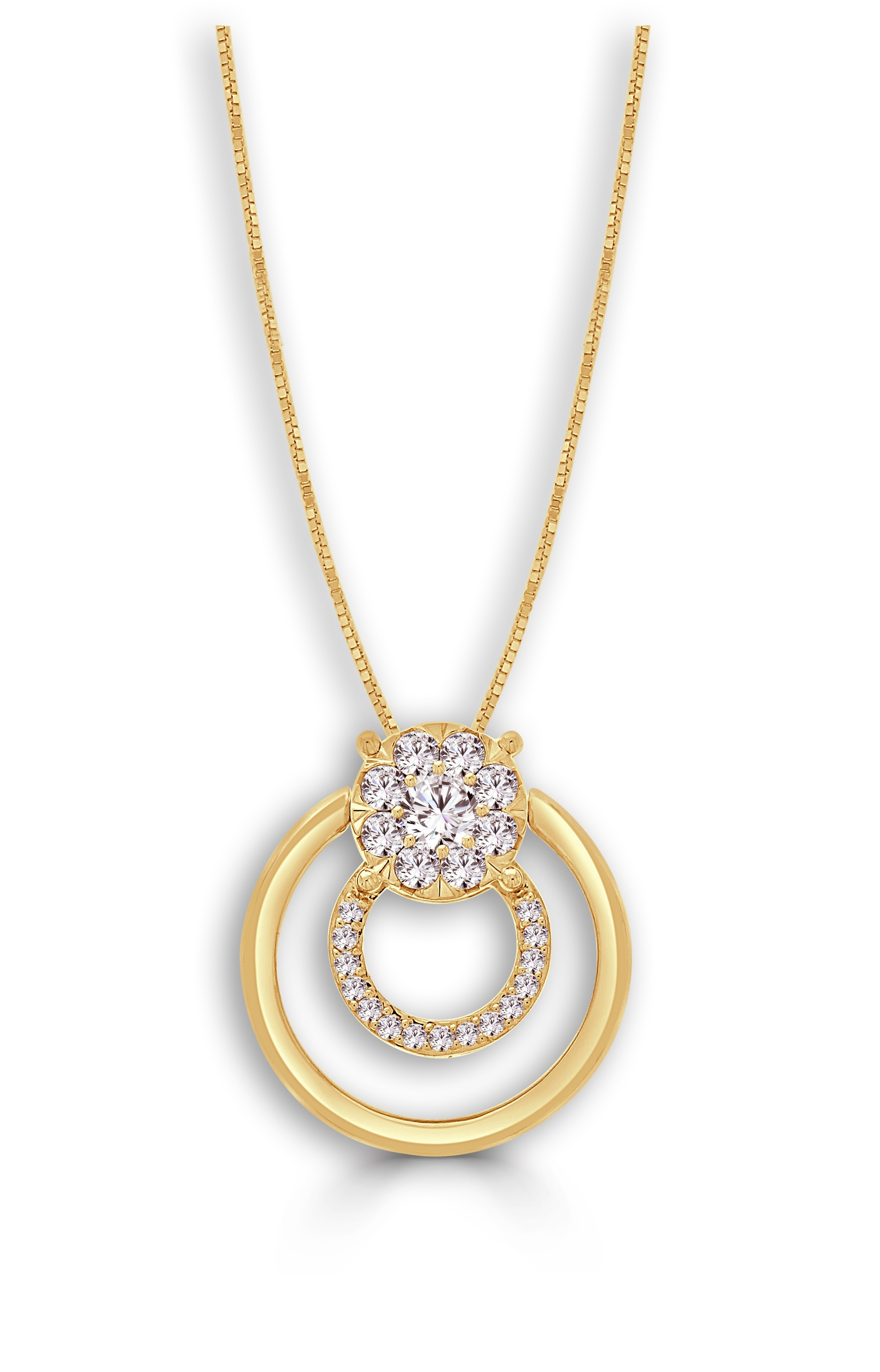necklaces diamond bar yellow gold in love cosanuova necklace jewelry pendant