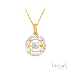 18Kt Dancing Diamond Pendant *NEW* 2018
