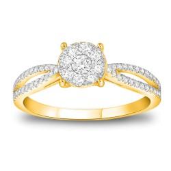 CARISTO  DR647Y DIAMOND LADYS RING