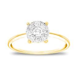 CARISTO  HS111Y DIAMOND LADYS RING