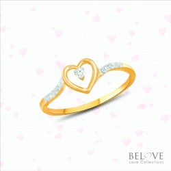 18K YELLOW GOLD  DR2006YG-VL21 DIAMOND RING