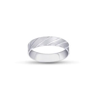 FOREVER WEDDING BAND  GENTS PLATINUM RING FBPL1024