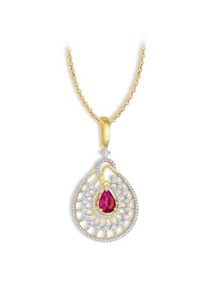 DIAMOND PENDANT KK-25RP